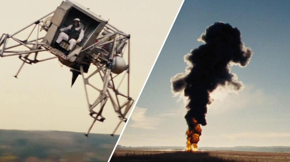 Neil Armstrong proves his worth in this exciting new clip. (Universal Pictures)