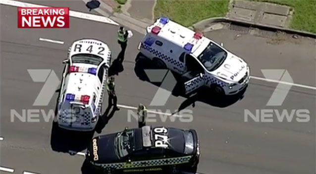 Police said they are treating the incident as an accident. Picture: 7 News