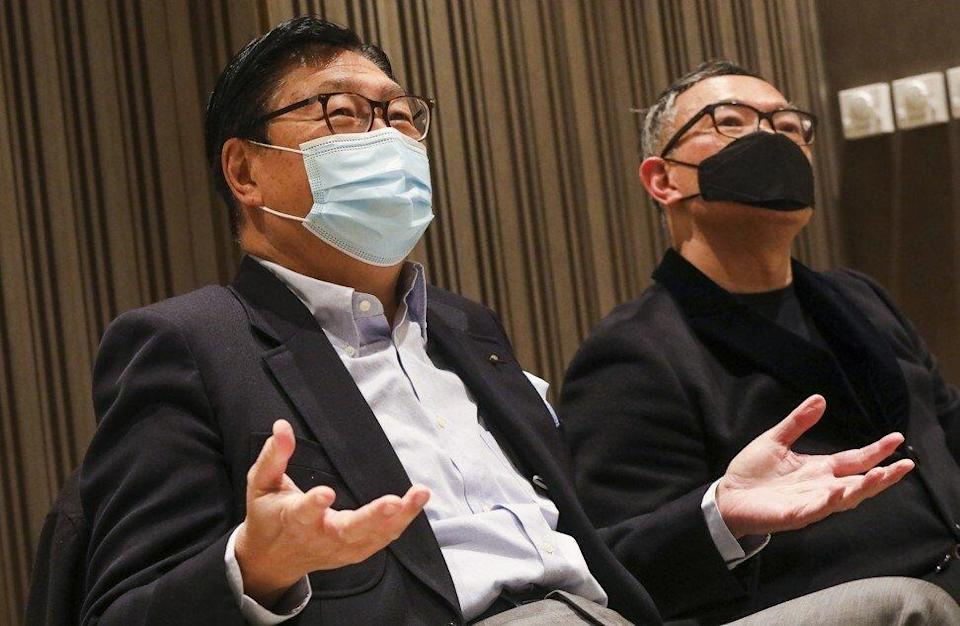 Former minister Frederick Ma Si-hang (left) is one of a slate of directors favoured by Convoy's second biggest shareholder, Kwok Hui-kwan. Photo: K.Y. Cheng