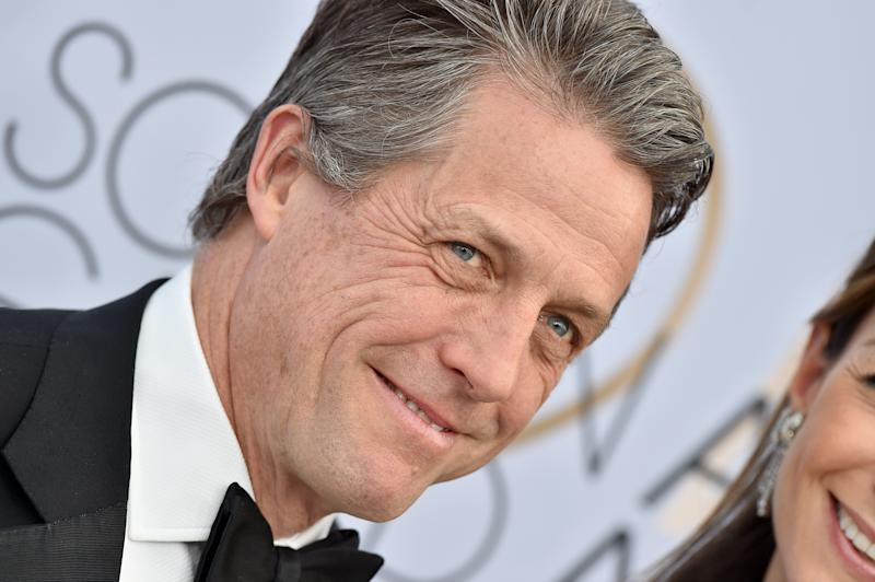 LOS ANGELES, CA - JANUARY 27: Hugh Grant attends the 25th Annual Screen Actors Guild Awards at The Shrine Auditorium on January 27, 2019 in Los Angeles, California. (Photo by Axelle/Bauer-Griffin/FilmMagic)
