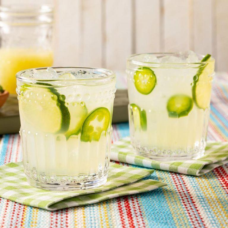 """<p>It's the ultimate summery cocktail, after all. This Spicy Jalapeño Margarita is an excellent choice for guests who don't mind an extra kick (thanks to fresh jalapeño peppers!). You might also want to try Ree's classic <a href=""""https://www.thepioneerwoman.com/food-cooking/recipes/a32303003/margareeta-recipe/"""" rel=""""nofollow noopener"""" target=""""_blank"""" data-ylk=""""slk:Marg-a-Ree-ta"""" class=""""link rapid-noclick-resp"""">Marg-a-Ree-ta</a>.</p><p><a href=""""https://www.thepioneerwoman.com/food-cooking/recipes/a35824437/spicy-jalapeno-margarita/"""" rel=""""nofollow noopener"""" target=""""_blank"""" data-ylk=""""slk:Get the recipe"""" class=""""link rapid-noclick-resp""""><strong>Get the recipe</strong></a>.</p><p><a class=""""link rapid-noclick-resp"""" href=""""https://go.redirectingat.com?id=74968X1596630&url=https%3A%2F%2Fwww.walmart.com%2Fsearch%2F%3Fquery%3Dcocktail%2Bshaker&sref=https%3A%2F%2Fwww.thepioneerwoman.com%2Fjust-for-fun%2Fg36599700%2Fsummer-party-ideas%2F"""" rel=""""nofollow noopener"""" target=""""_blank"""" data-ylk=""""slk:SHOP COCKTAIL SHAKERS"""">SHOP COCKTAIL SHAKERS</a></p>"""