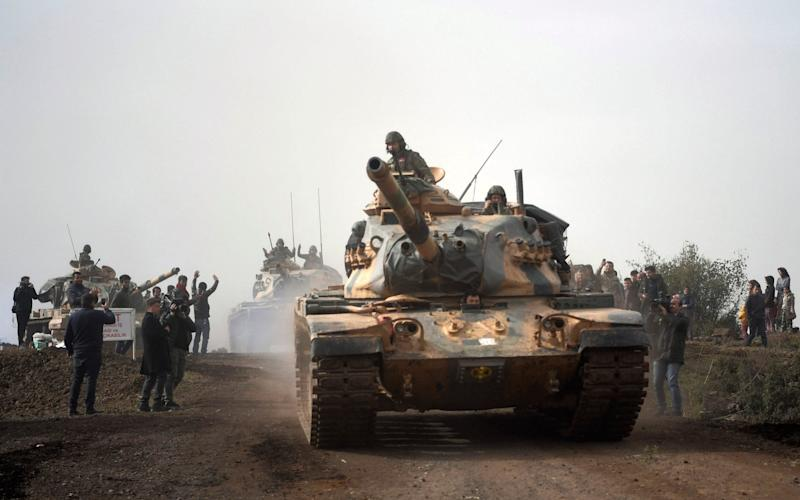 Turkey has captured around 287 foreign Isil members as it carries out an incursion into Kurdish-held Syria - AP