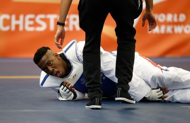 Lutalo Muhammad will not be appearing at a third successive Olympics