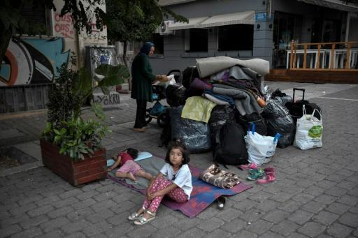 A new Greek law on asylum has slashed the time refugees are allowed to stay in camps or UN-managed accommodation after securing state protection