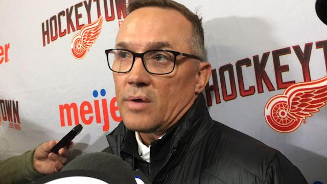Red Wings 'on their toes' with new boss Steve Yzerman watching