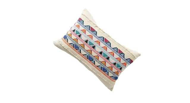 Hand-Knotted Alba Cushion