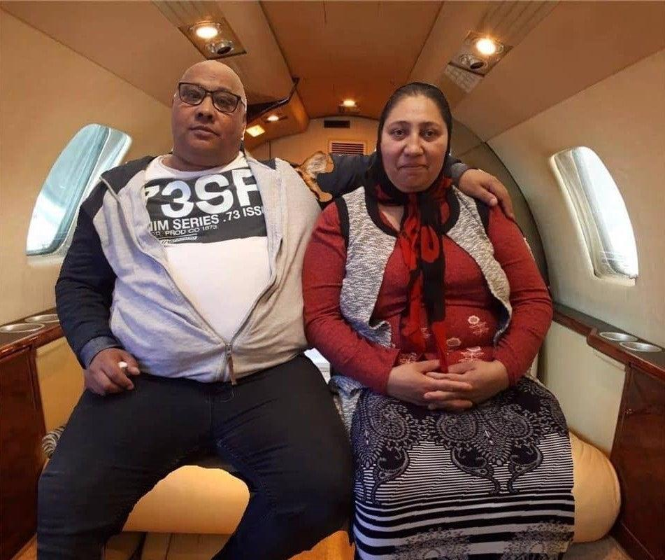 Gina* (right) lost her husband (left) to coronavirus in April and was left unable to prove her EU settled status because he was the only person who had the details on how to access it online and she was not digitally literate (Roma Support Group)