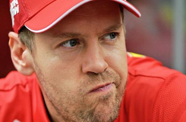 "Vettel denied claims that Ferrari have ""cheated"" (AFP Photo/CARL DE SOUZA)"