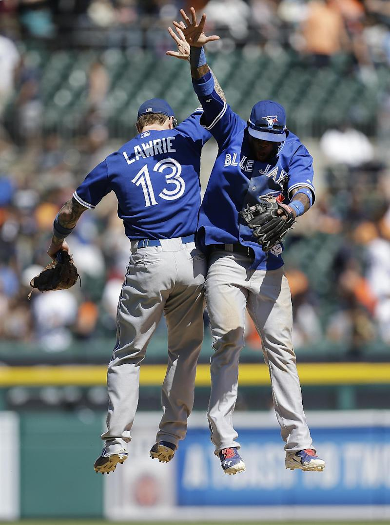Blue Jays beat Tigers 7-3 for 3-game sweep