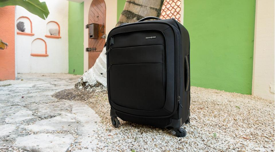 The best gifts for men: Samsonite Flexis Softside Luggage