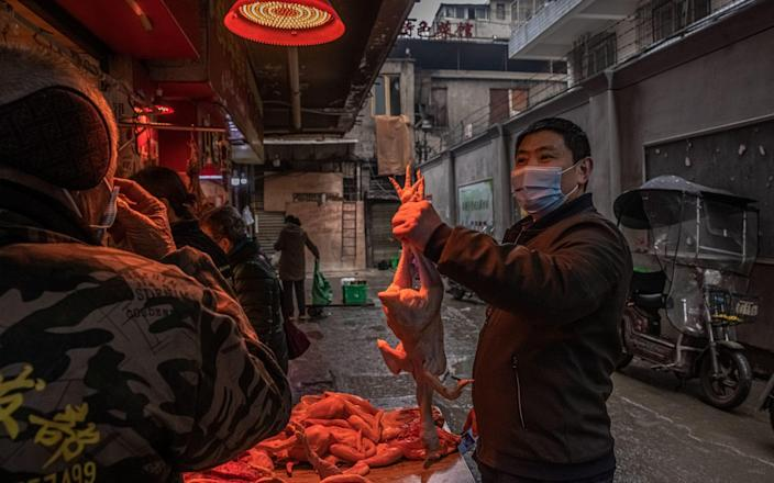 Markets have reopened in Wuhan and life is largely back to normal