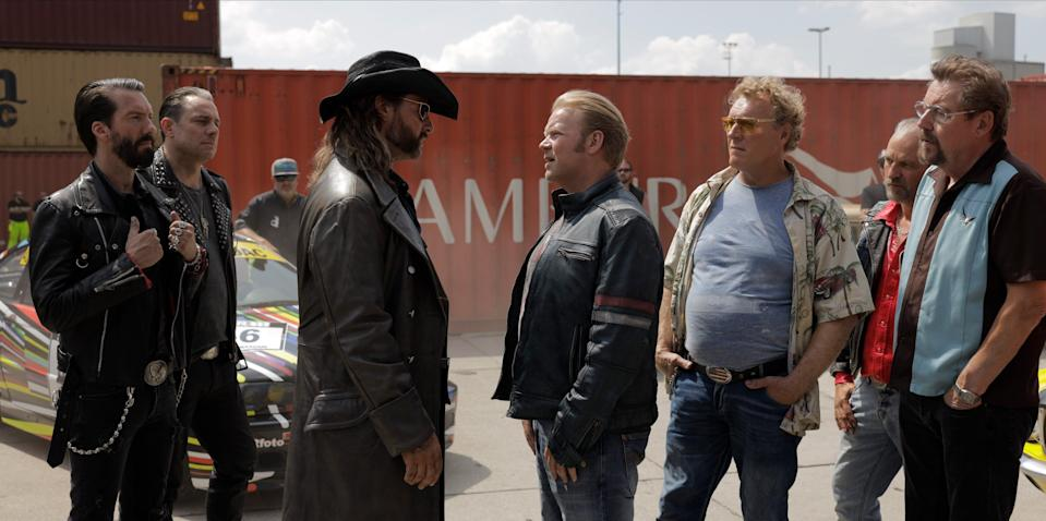 """<em><strong>Asphalt Burning</strong></em> <strong><em>(2019)</em></strong><br><br>From the looks of it, this Norweigan film is one for the petrolheads. After getting into trouble with his future wife at the wedding, car enthusiast Roy is left at the altar, watching her run off into the night. That is, until he accepts a challenge to win back his fiancée in a car race around one of the world's longest race tracks in Germany. Running into enemies, dead bodies and the police along the way, this is an off-the-wall comedy made with motorheads in mind.<br><br>Available 2nd January<span class=""""copyright"""">Photo Courtesy of Netflix.</span>"""