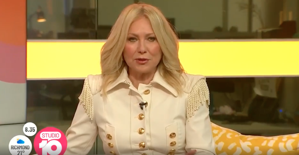 Kerri-Anne Kennerley on Studio 10