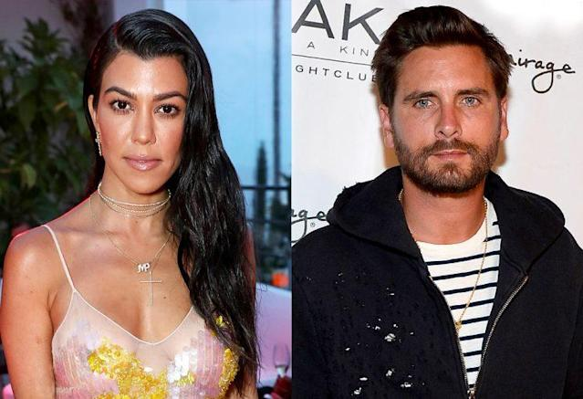 Kourtney Kardashian is at odds with baby daddy Scott Disick. (Photo: Getty Images)