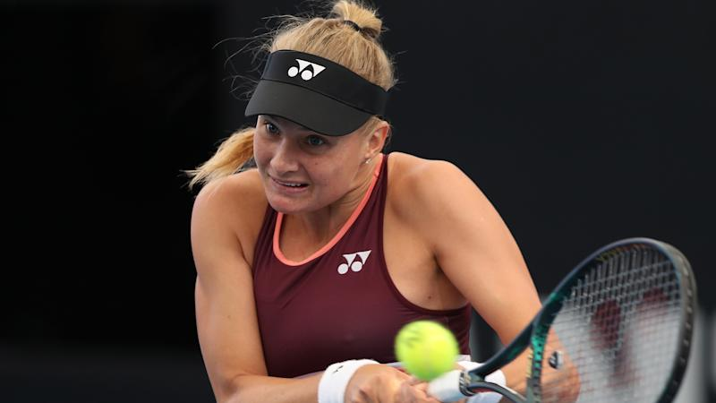 Yastremska apologises for posting images of herself in blackface