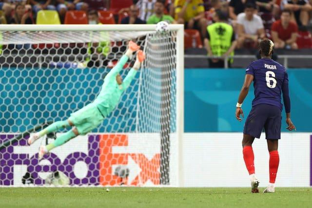 France had led 3-1 in that game after a brilliant goal from Paul Pogba