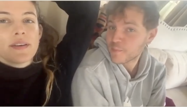 Riley Keough shared videos of silliness with her brother Benjamin, who died July 12. (Screenshot: Riley Keough via Instagram)