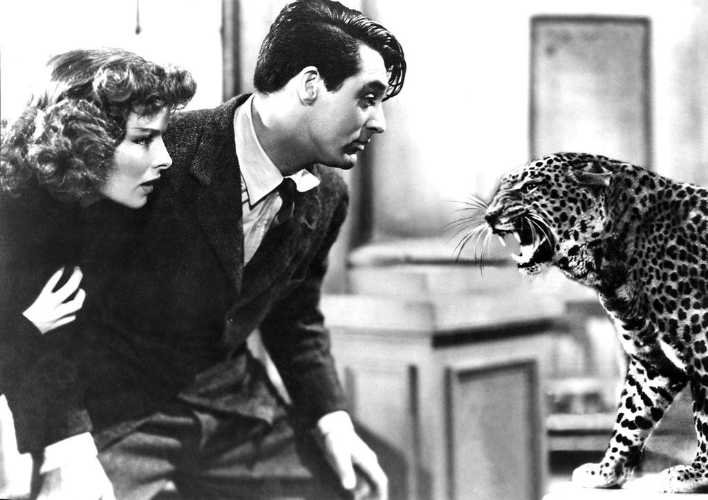 "<p><strong>1938</strong> –Howard Hawks' classic screwball comedy ""<a href=""http://movies.yahoo.com/movie/bringing-up-baby/"">Bringing Up Baby</a>"" opened on this day. Starring Katherine Hepburn and Cary Grant, the now-beloved film originally only lasted a disappointing two weeks in theaters due to poor box office. </p>"