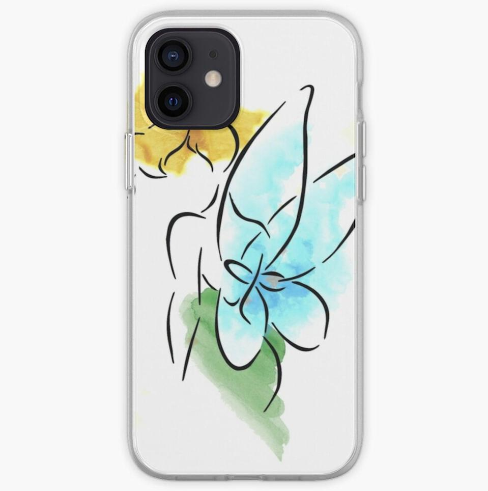 <p>The <span>Watercolor Tinkerbell Case</span> ($21) is so enchanting and majestic.</p>