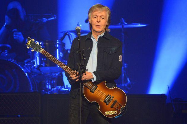 Paul McCartney performing at the O2 Arena in 2018 (Photo: Jim Dyson via Getty Images)