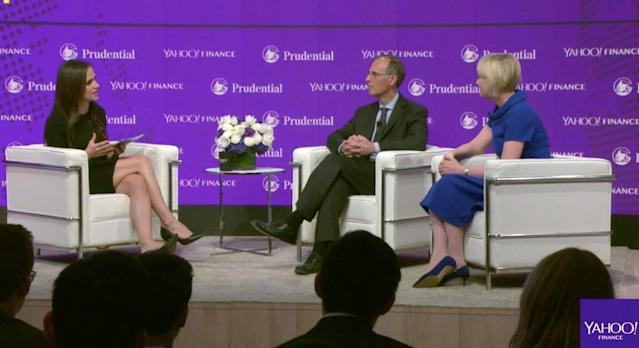 Yahoo Finance's Seana Smith speaks with Mark Zandi, chief economist at Moody's, and Julie Sweet, Accenture North America CEO, at the All Markets Summit in New York.