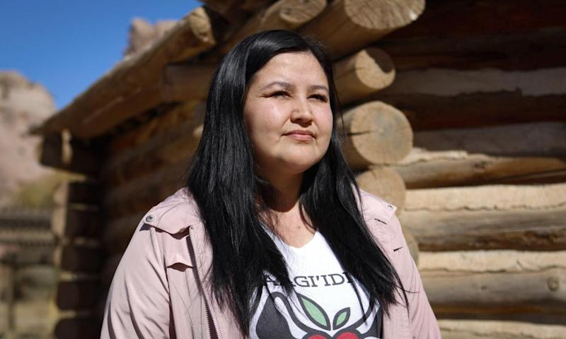 Melissa Brown, part Navajo, lives in Window Rock, Arizona. An estimated one in seven Native Americans weren't counted in the last US Census.