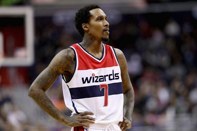 "<a class=""link rapid-noclick-resp"" href=""/nba/players/4615/"" data-ylk=""slk:Brandon Jennings"">Brandon Jennings</a> will play in China. (Getty)"