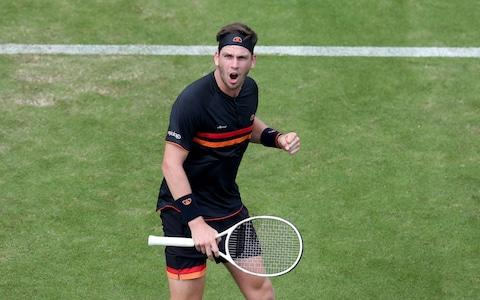 <span>Cameron Norrie was in fine form as he saw off Jeremy Chardy&nbsp;</span> <span>Credit: PA </span>