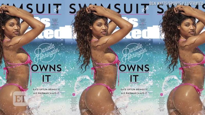Danielle Herrington Becomes 3rd Black Woman To Cover Sports Illustrated Swimsuit Issue