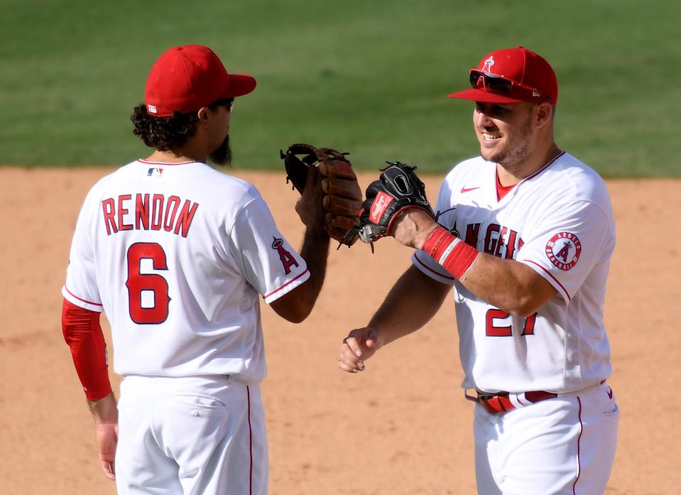 The Angels have Anthony Rendon and Mike Trout, what else do they need to contend? (Photo by Harry How/Getty Images)