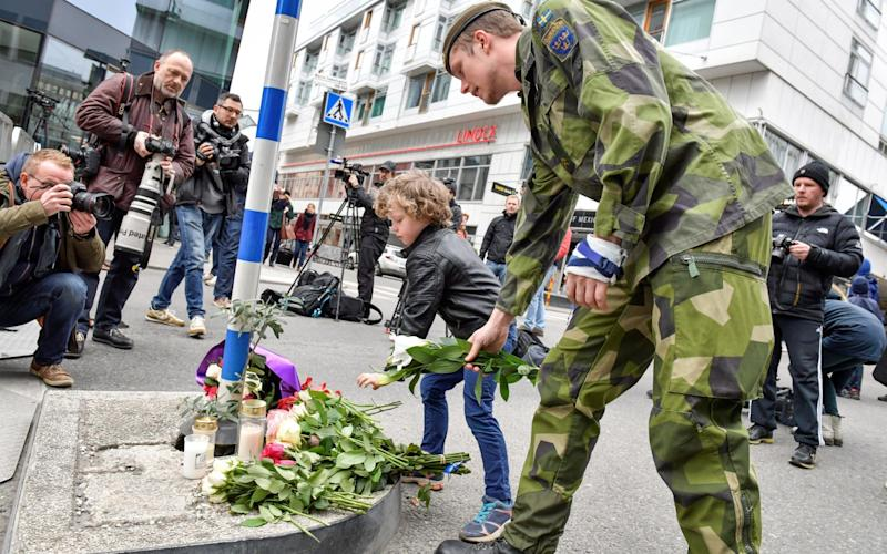 Sweden terror - Credit: Reuters