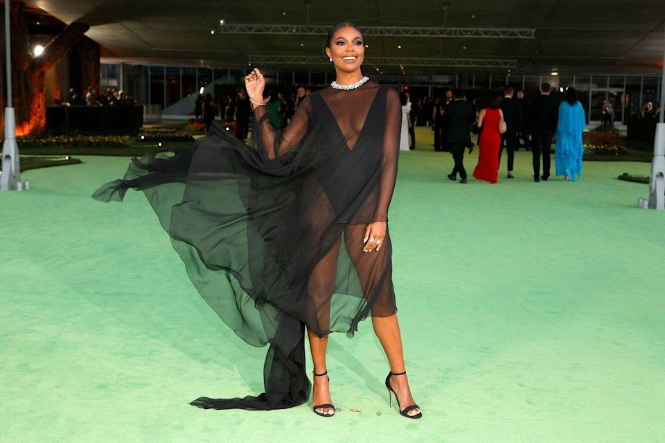 <p>in Alexandre Vauthier Couture and Sarah Flint shoes</p>