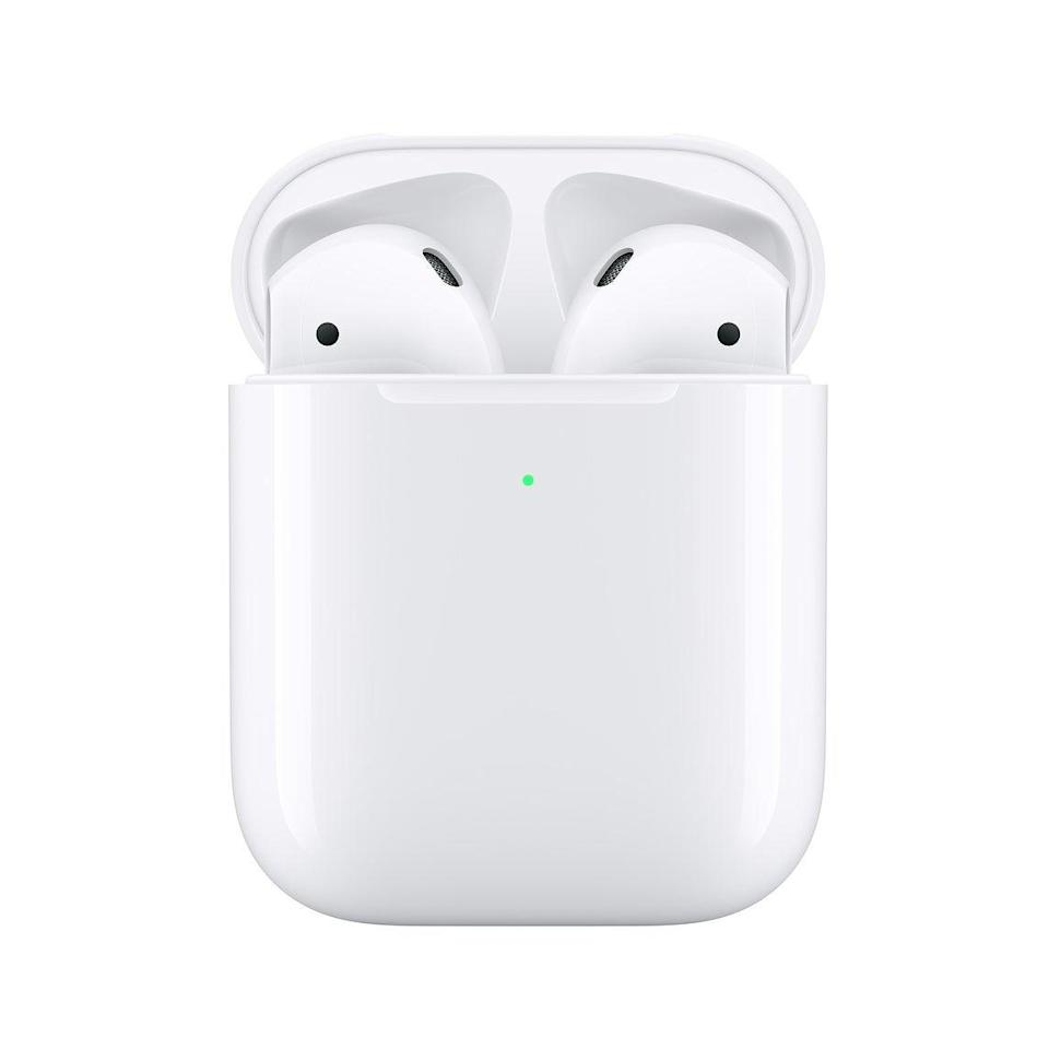 "<h2>AirPods with Charging Case</h2><br>No one will reject the gift of fresh Airpods. <br><br><strong>Apple</strong> AirPods with Charging Case, $, available at <a href=""https://go.skimresources.com/?id=30283X879131&url=https%3A%2F%2Ffave.co%2F3ds3Lty"" rel=""nofollow noopener"" target=""_blank"" data-ylk=""slk:Apple"" class=""link rapid-noclick-resp"">Apple</a>"
