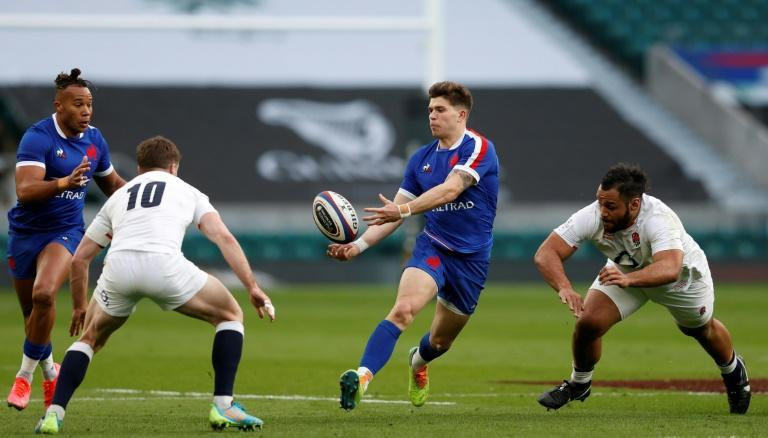 France's fly-half Matthieu Jalibert may have ended up on the losing side against England but he produced a superb display