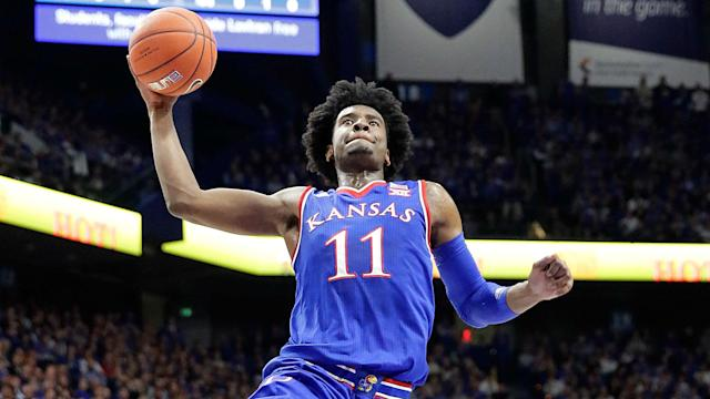 The Jayhawks are in a rough-and-tumble Midwest Region with the likes of Louisville and Oregon.
