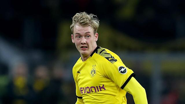 Marco Reus was already ruled out of Borussia Dortmund's first leg against PSG and they will have concerns over Julian Brandt now.