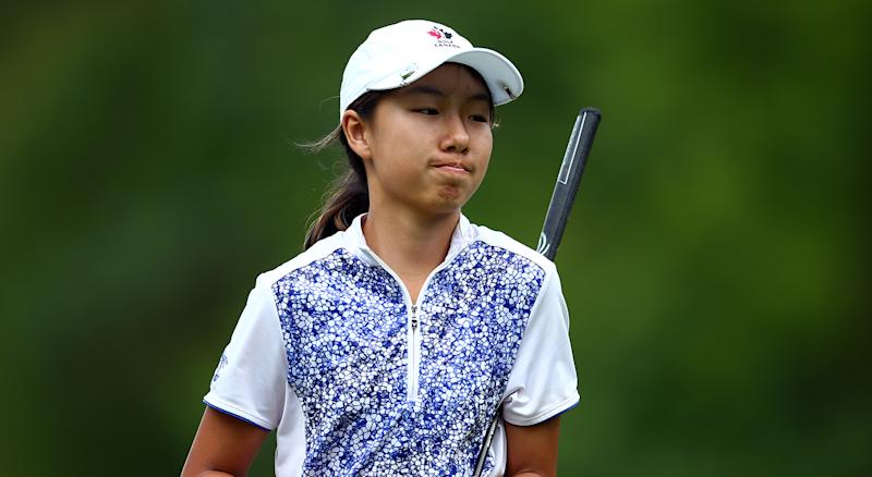 Annie Park leads CP Women's Open; Brooke Henderson 1 back