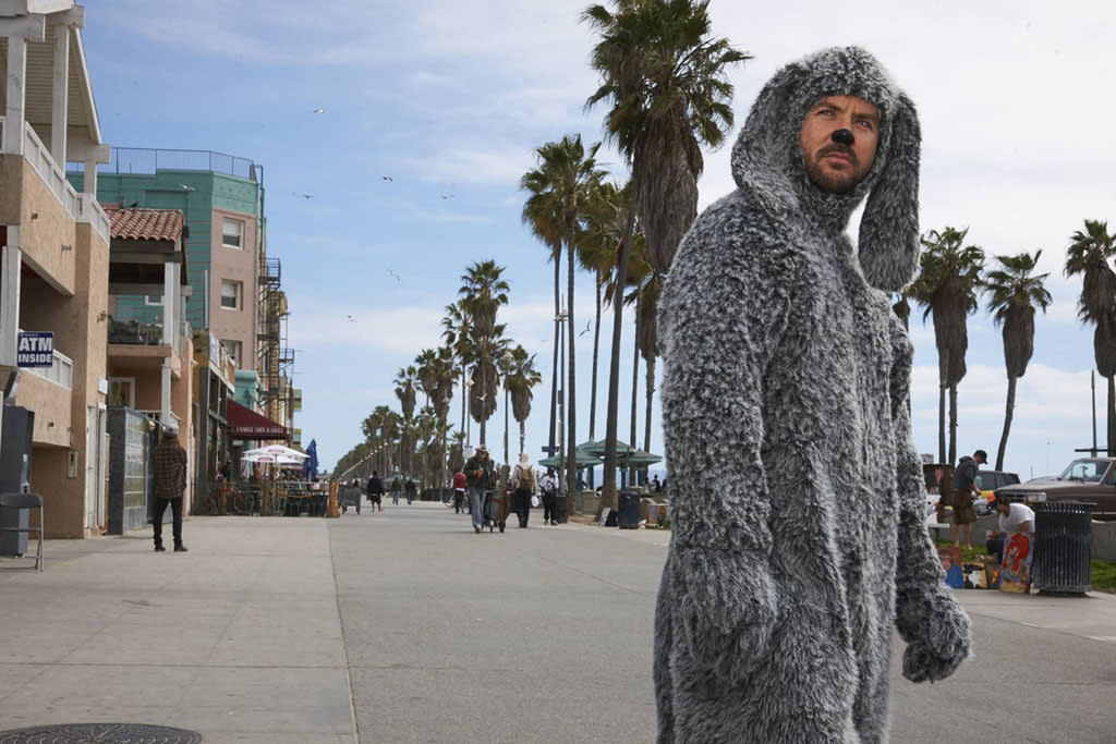 "Jason Gann as Wilfred in FX's ""Wilfred"" Season 3."