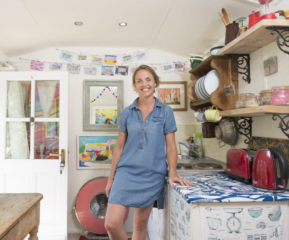 <p>ECO:<br>Shed and Breakfast – owned by Daisy in Bristol (Picture: Shed of the Year) </p>
