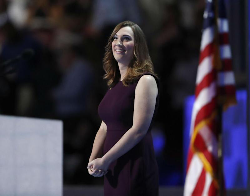Sarah McBride has entered the footnotes of history (AP)
