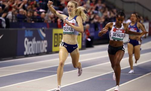 Jemma Reekie's 'special kick' could take her to Olympic glory, predicts coach