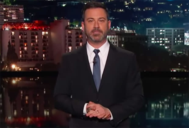Jimmy Kimmel thinks Trump's presidential address could've been scarier