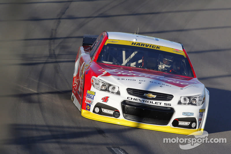 """2014: Kevin Harvick (Stewart/Haas-Chevrolet) mit 27,304 Sekunden<span class=""""copyright"""">Action Sports Photography</span>"""
