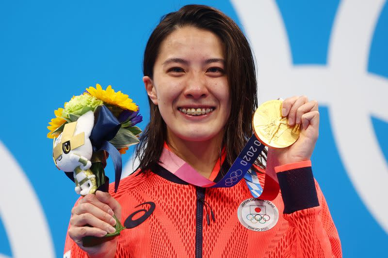 Swimming - Women's 400m Individual Medley - Medal Ceremony