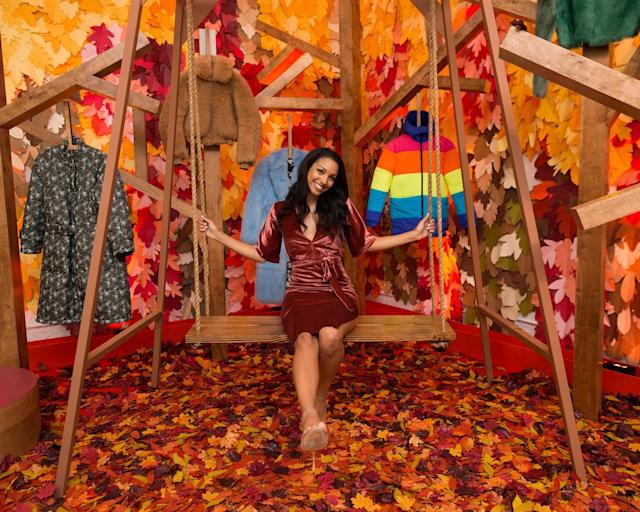 <p>Corinne Foxx attends the Shopbop NYFW party. (Photo: courtesy of Shopbop) </p>