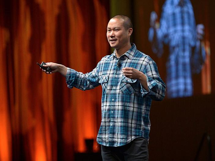 Tony Hsieh, CEO of Zappos.