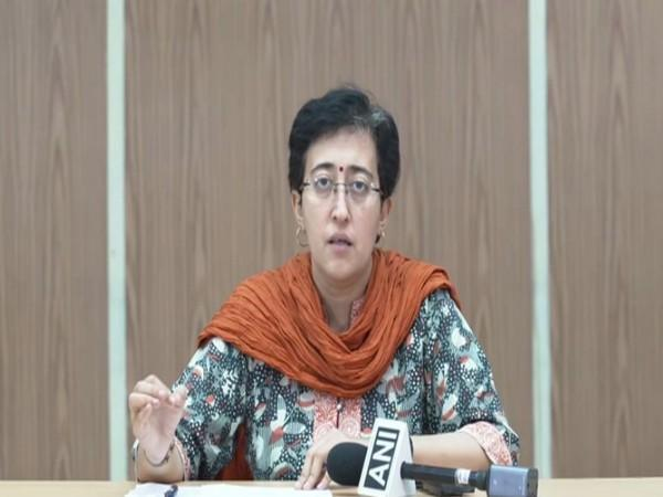 AAP MLA Atishi in a press conference (Photo/ANI)