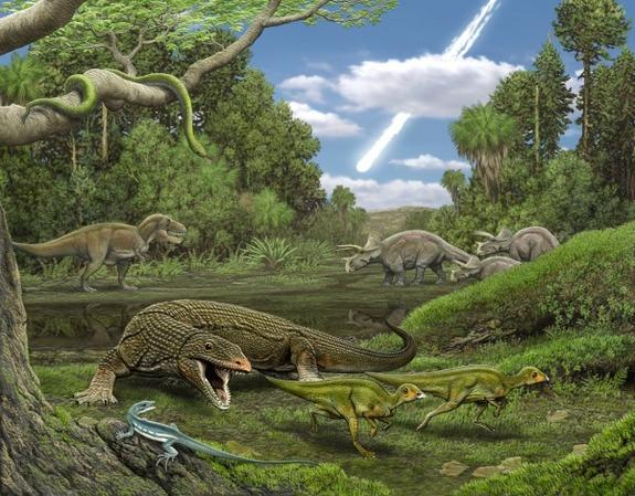 Dino-Killing Meteorite Wiped Out Lizards, Too