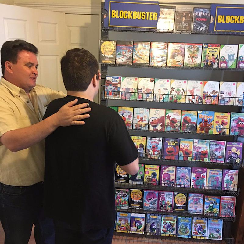 What 2 Amazing Parents Did For Their Blockbuster-Loving Son With Autism