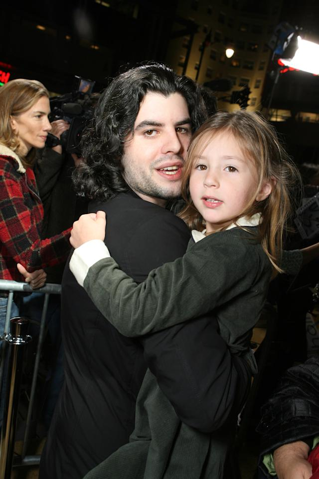 Sage Stallone and Scarlet Stallone during MGM Pictures, Columbia Pictures and Revolution Studios present the World Premiere of 'Rocky Balboa' at Grauman's Chinese Theater in Hollywood, California, United States. (Photo by E. Charbonneau/WireImage for MGM)